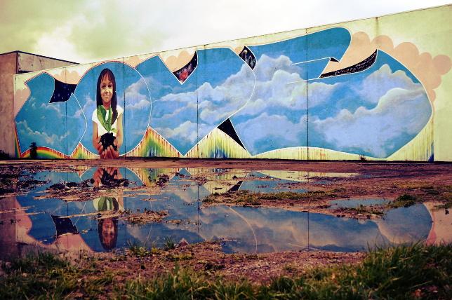 streetart christchurch love