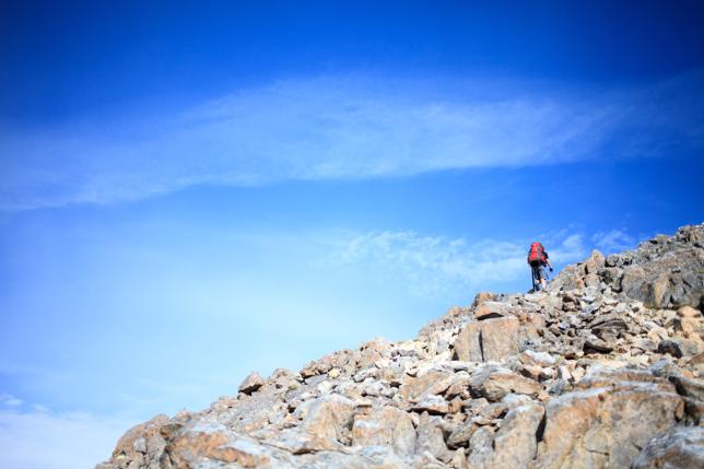 blue sky hike