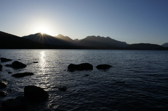 Sunset Doubtful Sound