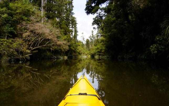 kayaking lagoon