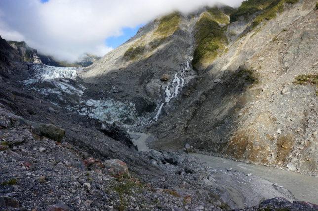 viewpoint Fox Glacier