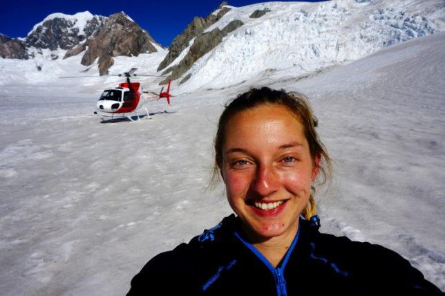 helicopter flight Fox Glacier