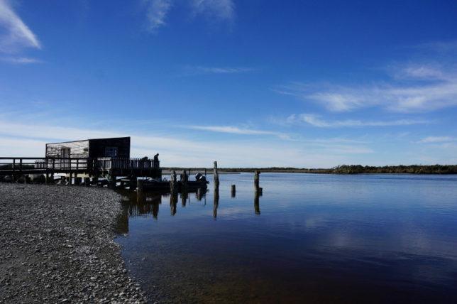 jetty reflection