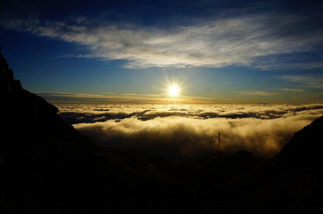 sunrise Mount Taranaki