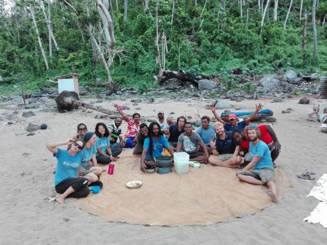 Kava circle on Koro