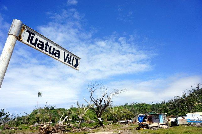 Tuatua Village.