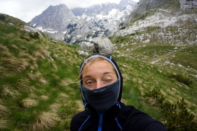 Selfie at Durmitor Nationalpark.