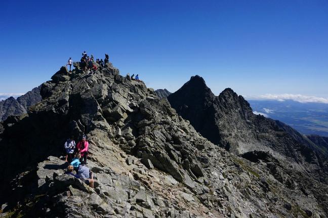 Slovakian Peak Rysy